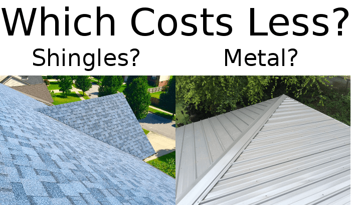 Choosing Between Asphalt Shingles Or Metal Roofing For