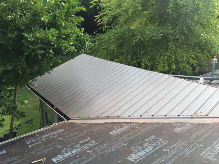 one section metal roof complete 11-2-16