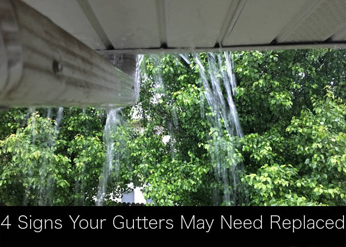 4 Signs Your Gutters Need To Be Repaired Or Replaced In Lexington, KY