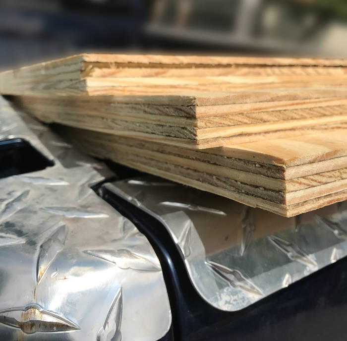 wood decking inventory