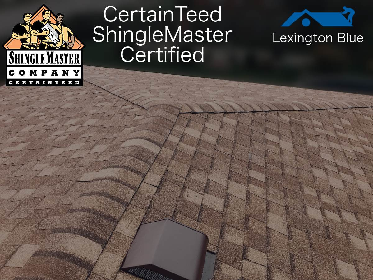 certainteed shinglemaster certified roofers lexington ky