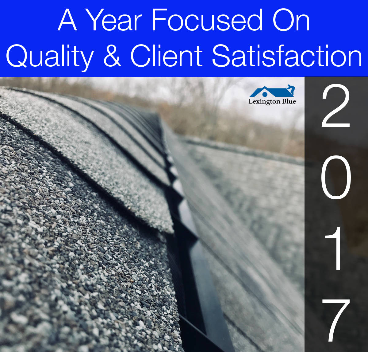 An Overview On A Few Of Our Completed Roofing Projects In Lexington, KY For 2017