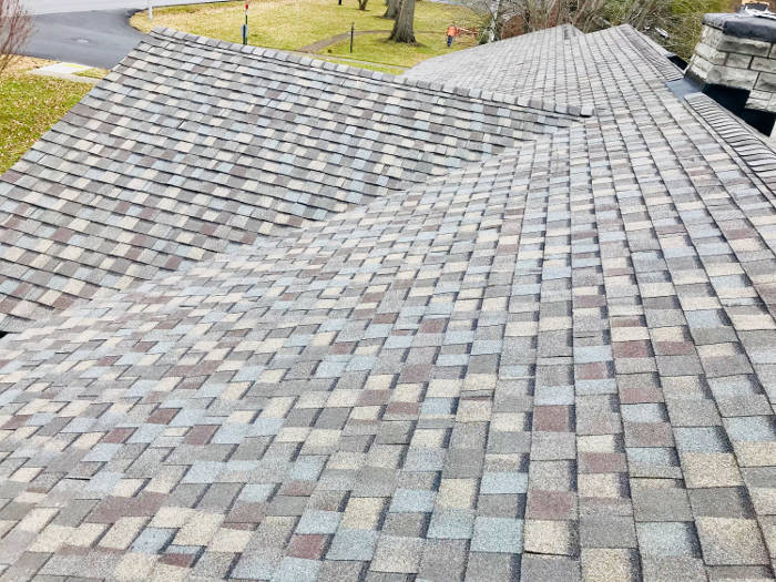 completed shingle installation 1 10-13-17