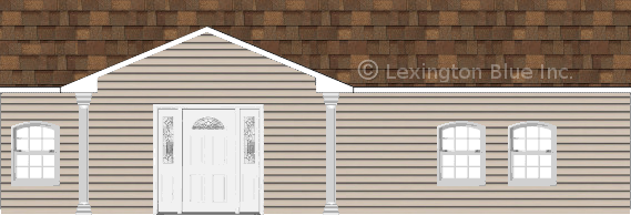 gray vinyl siding home aged cedar colored shingle