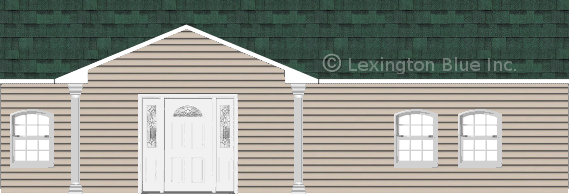 gray vinyl siding home chateau green colored shingle