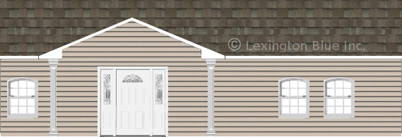 gray vinyl siding home driftwood colored shingle