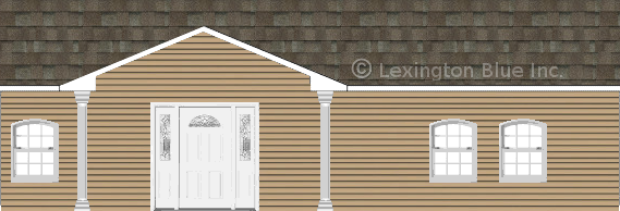 tan vinyl siding home driftwood colored shingle