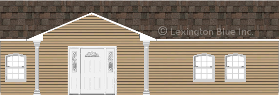 tan vinyl siding home flagstone colored shingle