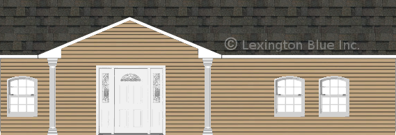 tan vinyl siding home peppermill gray colored shingle