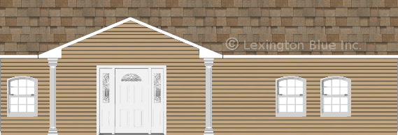 tan vinyl siding home sand castle colored shingle