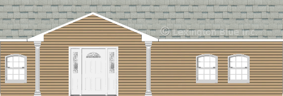 tan vinyl siding home shasta white colored shingle