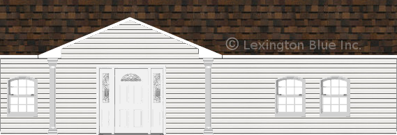 white vinyl siding home brownwood colored shingle