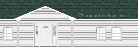 white vinyl siding home chateau green colored shingle
