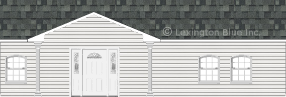 white vinyl siding home estate gray colored shingle