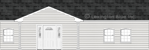 white vinyl siding home twilight black colored shingle